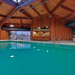 Relax in our warm indoor pool area at the Holiday Inn Burlington