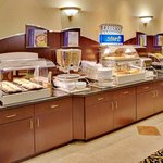 Breakfast Bar is complimentary to all guest