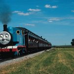 Thomas the Train passes thru Strasburg 3 times a year..