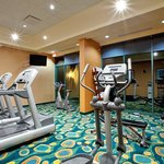Keep up with your workout in our fitness center