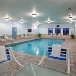 Relax and enjoy our heated pool.