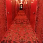 The very red corridor