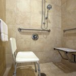 Wheelchair Accessible - Roll-in Shower
