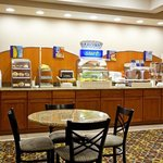 Complimentary Express Start Hot Breakfast Bar