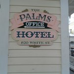 The Palms Hotel Marker