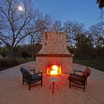 Outdoor Terrace Fireplace