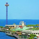 Kemah Boardwalk is 10 miles away