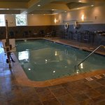 Indoor Heated Swimming Pool Holiday Inn Express & Suties Tacoma