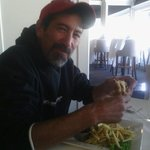my brothers birthday luch came from Morro Bay he love it