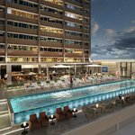 NEXT Hotel Brisbane Pool Terrace & Bar