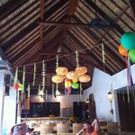 Balinese party decorations