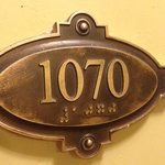 Room 1070 door sign Omni Parker House  |  60 School Street, Boston, MA