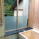 Private onsen--attached to room