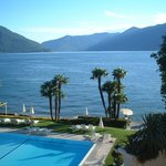 Lago Maggiore from our room