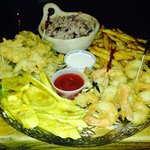 Shrimp and Crack Conch Platter
