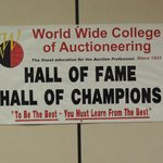 Auctioneering History starts in this school
