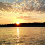 Sunrise on the Tambopata River