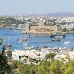 Bodrum Harbor from Hotel Manastir