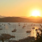 Bodrum Sunset from Hotel Manastir
