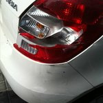 Valet SMASHED my Taillight!!!