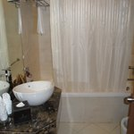 Bath in standard doble room