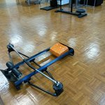 rowing machine - definitely not  Concept II