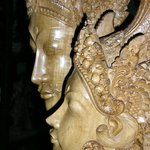 Woodcarving from Bali.