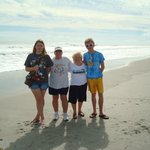 family fun on cocoa beach very short walk from hotel