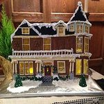 The Secret Garden Gingerbread House
