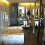 swanky and cool bathroom