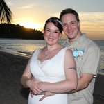 Sunset on our wedding day :-)