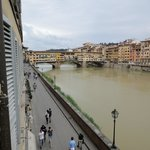 View from room looking south(Ponte Vecchio)