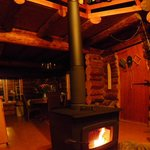 Cozy wood stove