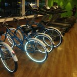 Cruiser Bikes available at the Gym