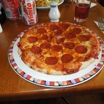 """My meal a 10"""" Pepperoni"""