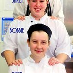 Part of our kitchen team ...The Ladies