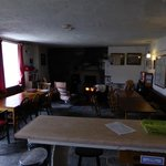 The Common Room at Dolgoch Wilderness Hostel