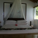 Honeymoon suite bedroom
