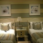 Twin beds in a standard room