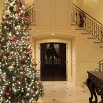 Foyer at Christmas 2013