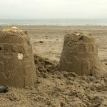 Sandcastles at Cranfield
