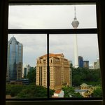 View of KL tower from room