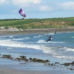 Kitesurfing at Cranfield