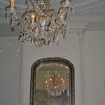 beautiful ceiling and chandelier