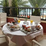 Gourmet breakfast on the balcony - magic