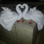 Our lovey dovey towels