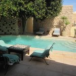 The charming swimming pool