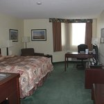 Bedroom view, BEST WESTERN PLUS Winnipeg Airport Hotel  |  1715 Wellington Ave, Winnipeg, Manito