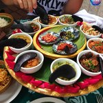 9  Different balinese foods with Satay chicken/beef