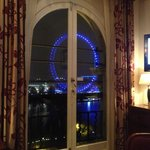 view on London Eye